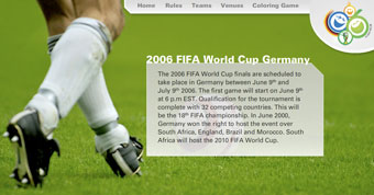 Visual guide to the Fifa 2006 in Germany