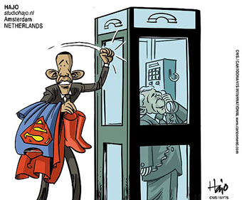 Obama is the Superman