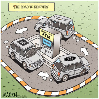 The road to recovery for the three major automakers