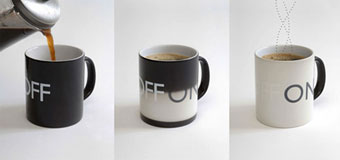 on/off coffee mug