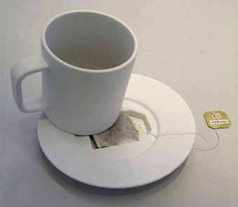 Tea bag coffin
