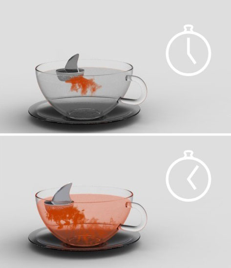 Sharky tea infuser 3