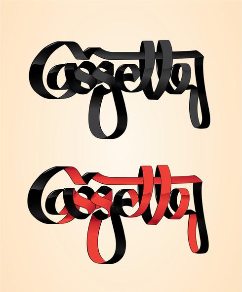 Cassette typeface