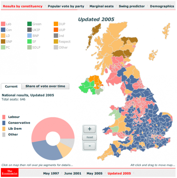 BiofusionDesign   UK general election 2010 maps